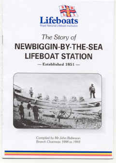 Front cover of John Robinson's booklet. - 