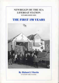 This 112 Page book is on sale from the Newbiggin Lifeboat Station, priced £6.00p